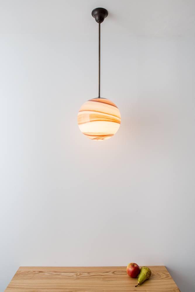 Art d co kugelglas h ngeleuchten lamptique online shop for Art deco online shop