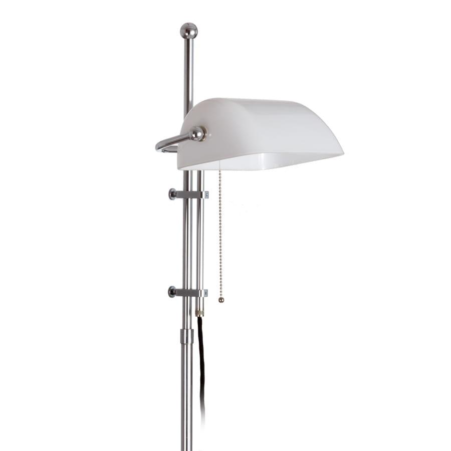 Stehleuchte Bankerlampe Grun Der Klassiker Lamptique Online Shop